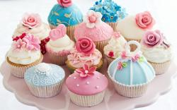 Beautiful Cupcake Yummy Wallpaper Desktop Wallpaper