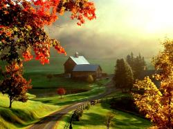 Beautiful Farm Wallpaper