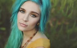 Beautiful Hair Girl Look
