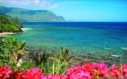 Wallpaper: Hanalei Bay Kauai Hawaii Resolution: 1024x768   1280x1024   1600x1200. Widescreen Res: 1440x900   1680x1050   1920x1200