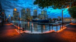Beautiful hdr city wallpaper
