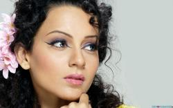 Download Kangana Ranaut Beautiful Face wallpaper in Celebrities wallpapers with all resolutions: