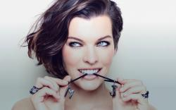 Milla Jovovich Beauty Actress HD Wallpaper