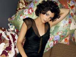 This free scenery wallpaper includes Morena Baccarin, the famous actress from Brazil. With pillows and blanket around, you bet it won't be soon before she ...