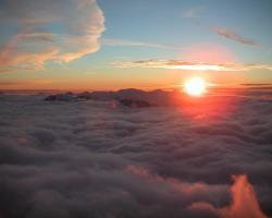 Sundown In Mountain Top, free beautiful wallpaper download for your desktop or laptop.