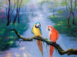 Captivating Beautiful Paintings Wallpaper 1024x768px