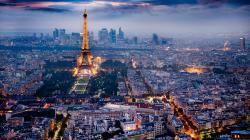 Beautiful Paris Night Wallpaper