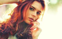 Beautiful Redhead wallpaper