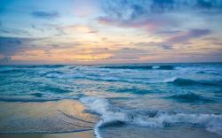 Beautiful Sea Foam Wallpaper