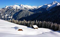 Beautiful Snow Mountain