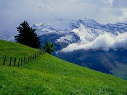 Switzerland Mountain Natural Beauty