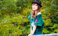 Taiwan beautiful girl MM mikao wallpaper second series 06