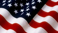 Beautiful Flag of The United States of America