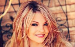 Beauty Blonde Girl Portrait