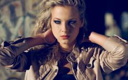 Beauty Blonde Model Photo