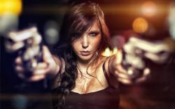 Beauty Girl Guns
