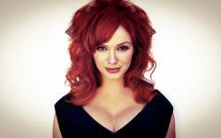 Beauty Redhead Christina Hendricks American Actress