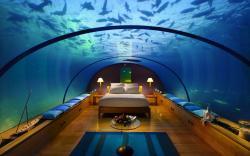 Bedroom under Sea