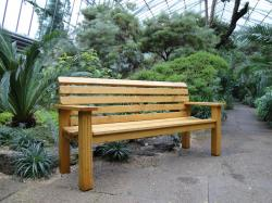 One of Our New Benches (click to enlarge)