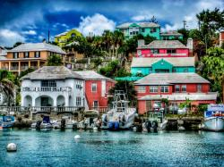 Bermuda Boat Dock by mng182