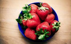 Berries Strawberries Red