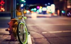 Bicycle City Street