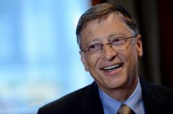 Bill Gates Car Accident Images