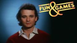 "Bill Murray in ""Fun & Games"" on Laserdisc! Rare?"