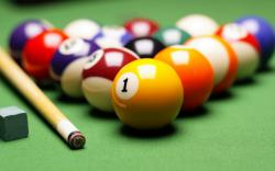 Billiards Bokeh