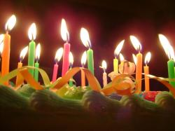 ... birthday cake candles cake | by viktrav