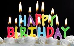 Happy Birthday Cakes Widescreen 6