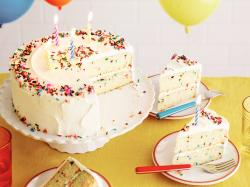 Confetti Party! This confetti birthday cake ...