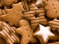 Cute Biscuits Wallpaper