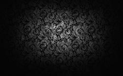 Black and White Floral · Black and White Floral Wallpaper ...
