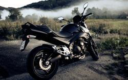 Cool Black Bike Wallpaper