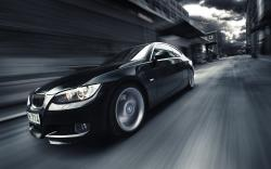 Black BMW 335 Street Speed Photo