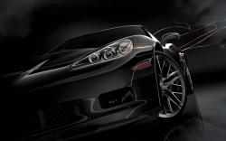 Black Car Wallpaper 12947