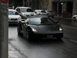Lamborghini Gallardo black #3
