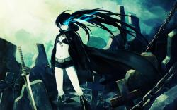 Black Rock Shooter Res: 1440x900 / Size:1192kb. Views: 108049