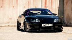 Toyota Supra black #5