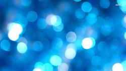 Blue Bubbles Abstract Wallpaper