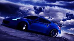 Blue Car Wallpaper