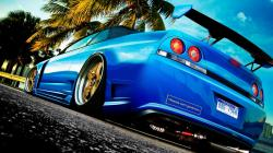 Blue Car HD Wallpapers : Blue car looks cool wallpaper