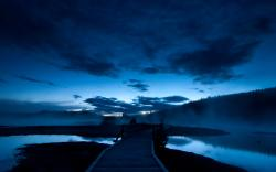 Blue Dusk Wallpaper 9023