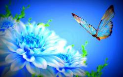 Blue flowers 27