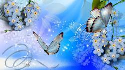 Blue flowers 45