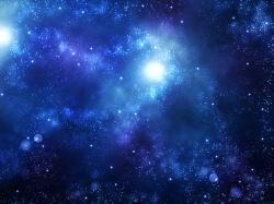 Beautiful-wallpapers-Blue Galaxy Background-wallpaper