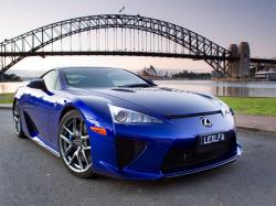 Blue Lexus LFA HD Dekstop Supercars Wallpapers 29 Backgrounds