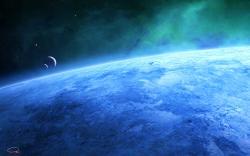 Blue Planet by QAuZ Blue Planet by QAuZ