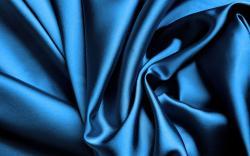 Blue Silk Wallpaper
